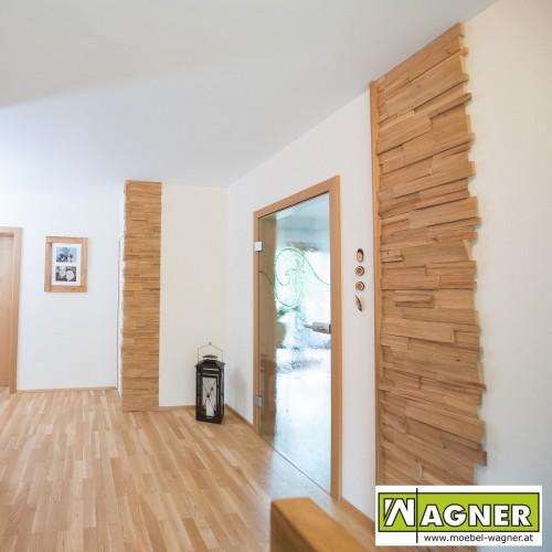 Vorzimmer - Spaltholz Rüster