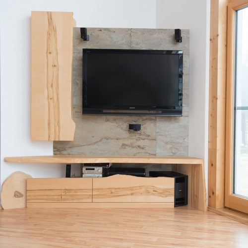 Wohnzimmer Kernahorn